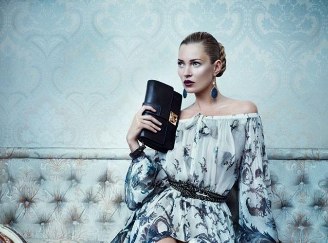 Mode : Kate Moss, beauté slave pour Ferragamo !