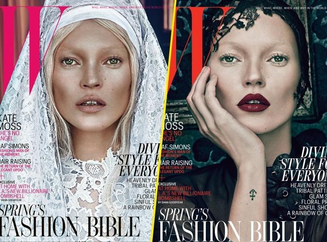 Mode : Kate Moss : dévote angélique ou succube démoniaque ?