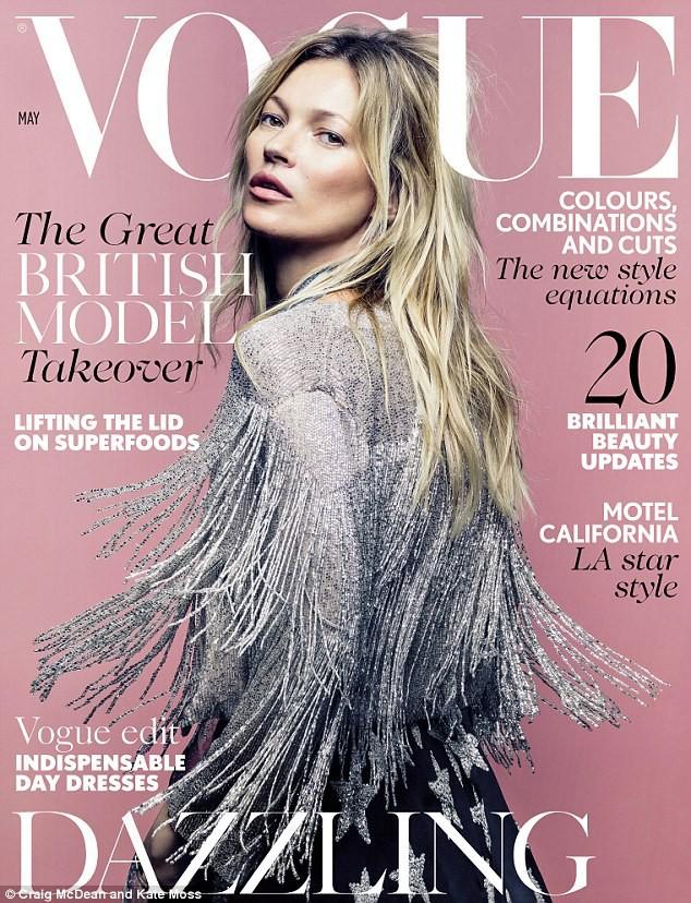 La dernière couverture du Vogue UK, Mai 2014