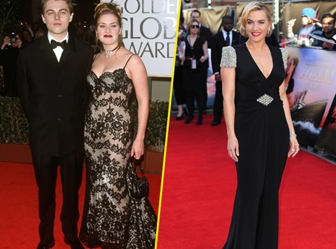 Mode : Kate Winslet : 15 ans après Titanic, la star a bien changé !
