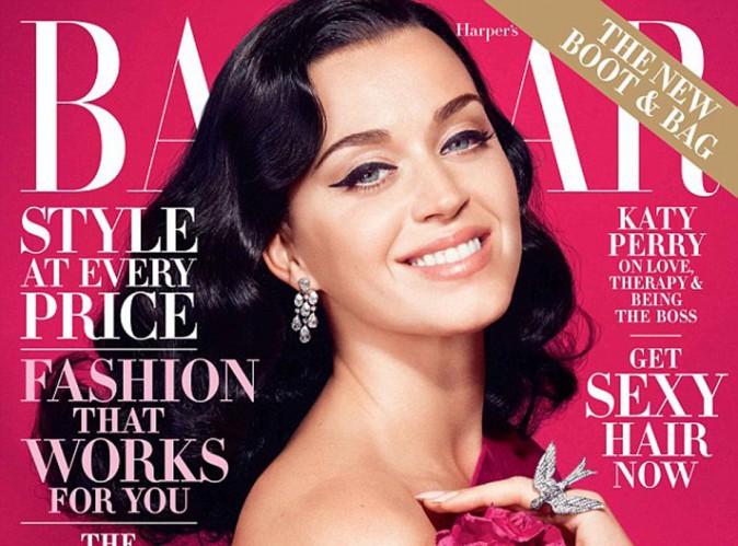 Mode : Katy Perry : en Une de Harper's Bazaar elle se confie sur ses amours et sa thérapie...