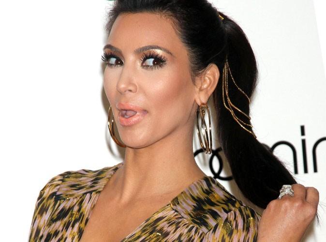 Mode : Kim Kardashian explique pourquoi elle ne porte pas toujours son alliance !