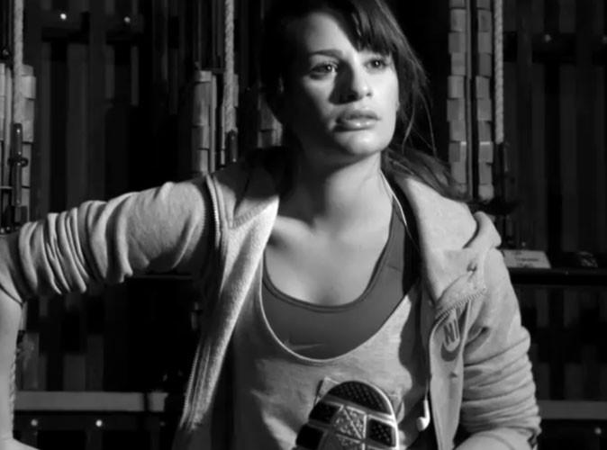 Mode : L'actrice de Glee, Lea Michele est physiquement au top pour Nike!