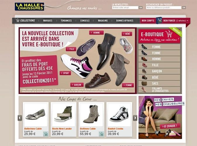 Mode : La Halle aux Chaussures lance sa boutique sur le web !