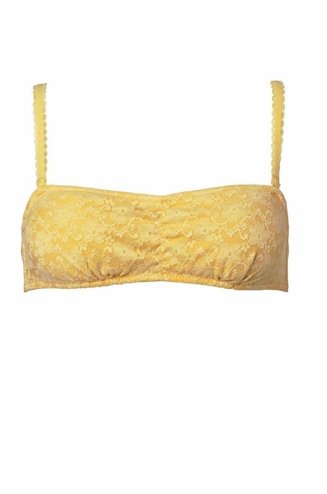 Brassière bandeau en dentelle, Vero Moda, 19€
