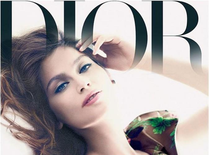 Mode : Laetitia Casta : délicate et sensuelle pour Dior, elle passe aux confidences !
