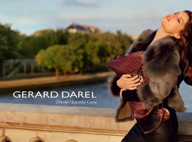 Mode : Laetitia Casta : son joli minois a séduit Gérard Darel !
