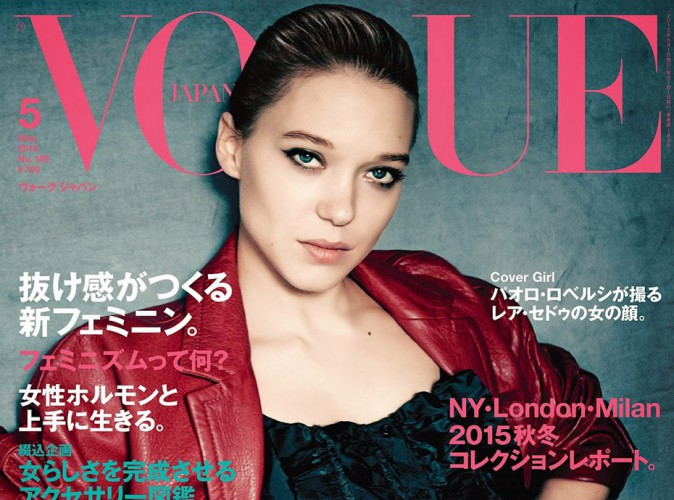 Mode : Léa Seydoux : Une James Bond Girl en couv' de Vogue Japon !