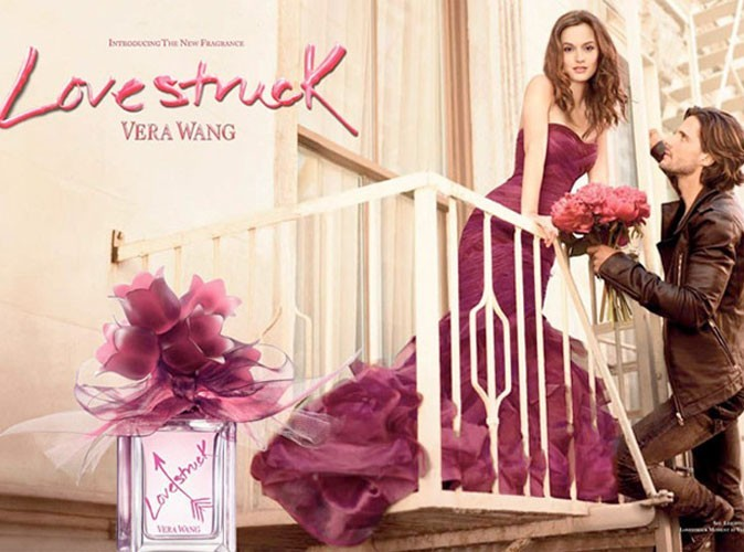 Mode : Leighton Meester, sublime égérie du parfum Vera Wang !