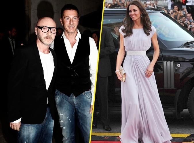 Mode : les stylistes de Dolce et Gabbana ne sont pas fans de Kate Middleton !