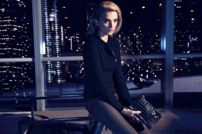 Mode : Lily Donaldson : la british girl illumine la campagne de Noël de Hugo Boss !