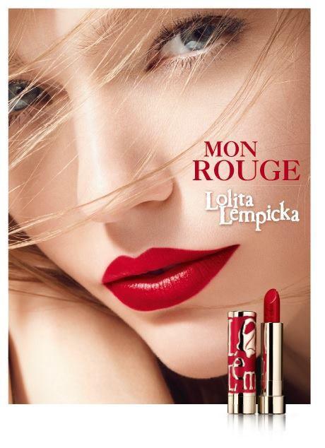 Mode : Lolita Lempicka lance sa première ligne de rouge à lèvres avec Sasha Pivovarova comme égérie !