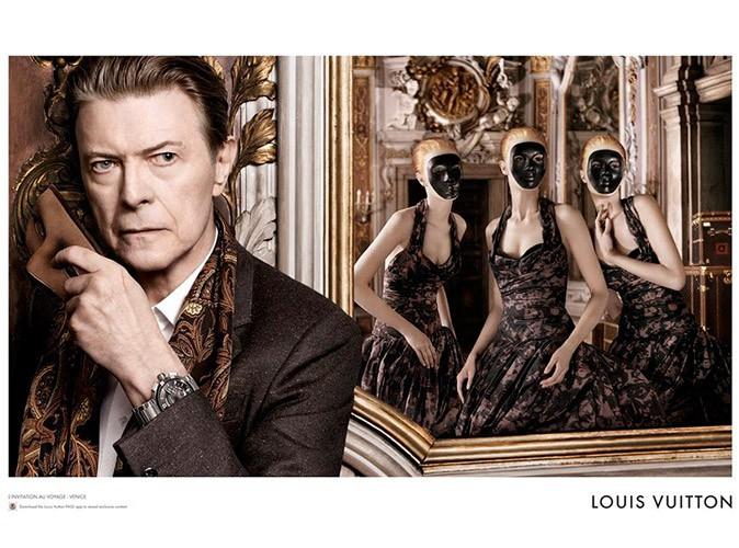 Mode : Louis Vuitton : David Bowie entre dans la danse et vous invite au voyage !