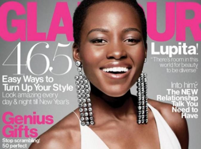 """Mode : Lupita Nyong'o : une beauté colorée élue """"Femme de l'année"""" par le magazine Glamour !"""