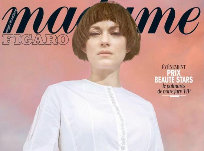Mode : Marion Cotillard : cover girl de Madame Figaro, elle se transforme en Jeanne d'Arc !