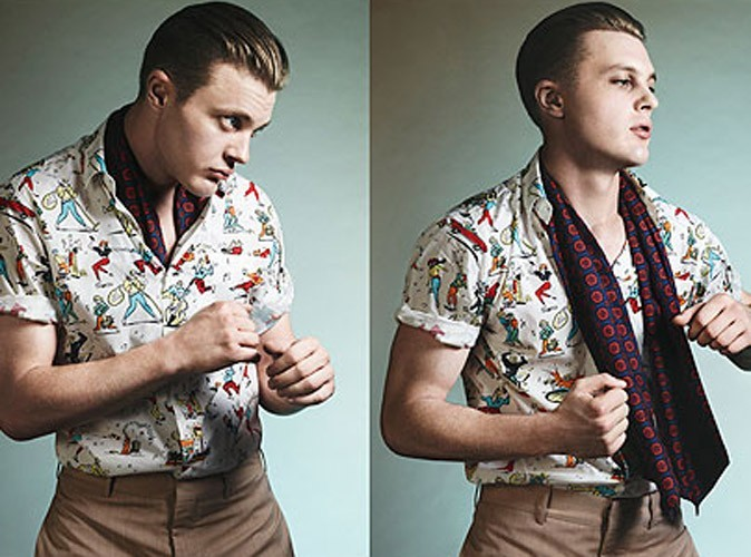 Mode : Michael Pitt, le bad boy fashion de la pub Prada !