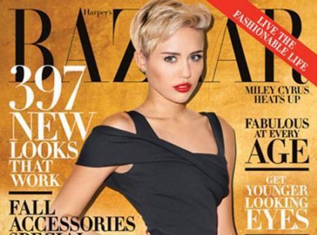 """Mode : Miley Cyrus :""""Je peux porter des leggings blancs et être à un niveau que les (autres) filles n'atteindront jamais !"""""""