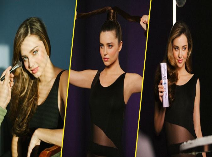 Miranda Kerr : sa pub pour Clear Scalp & Hair risque d'être d'enfer !