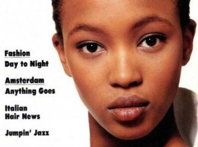 Mode : Naomi Campbell toute innocente pour sa première couverture !