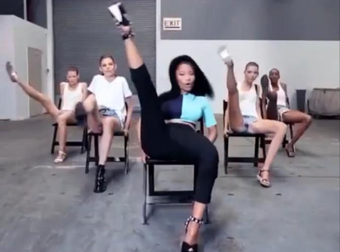 Mode : Nicki Minaj : elle fait danser les mannequins d'Alexander Wang sur Anaconda !