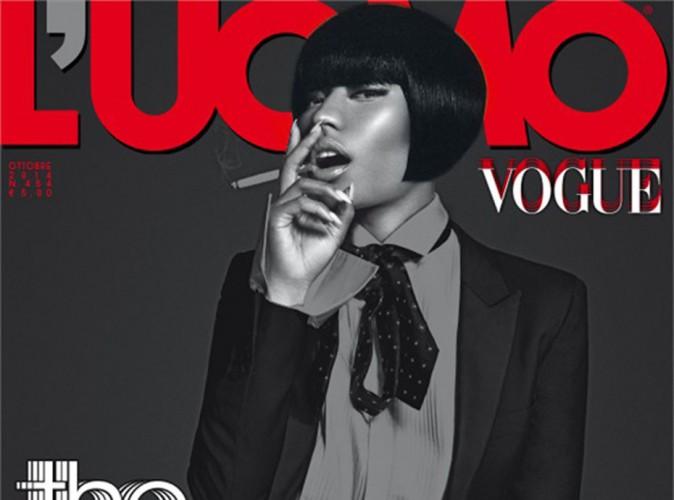 Mode : Nicki Minaj : méconnaissable pour L'Uomo Vogue !