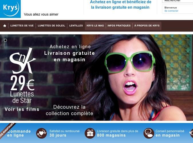 Mode : on a testé krys.com, un e-shop dans le coup !
