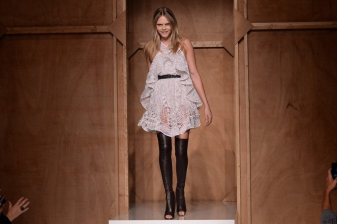 Mode : Photos : Cara, Kendall, Rosie et Joan au top pour Givenchy !