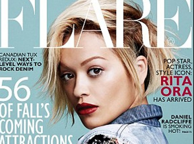 Mode : Rita Ora : rebelle et stylée en couverture du magazine Flare !