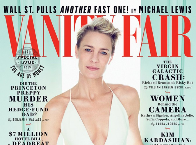 Mode : Robin Wright : Charmante et classieuse en couverture de Vanity Fair !