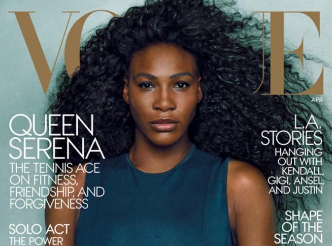 Mode : Serena Williams : crinière de rêve et moue boudeuse en une du Vogue US !