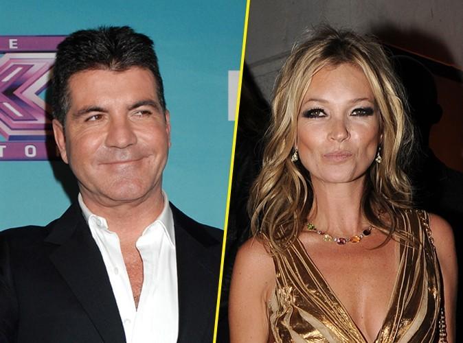 Mode : Simon Cowell souhaite embaucher Kate Moss dans X Factor !