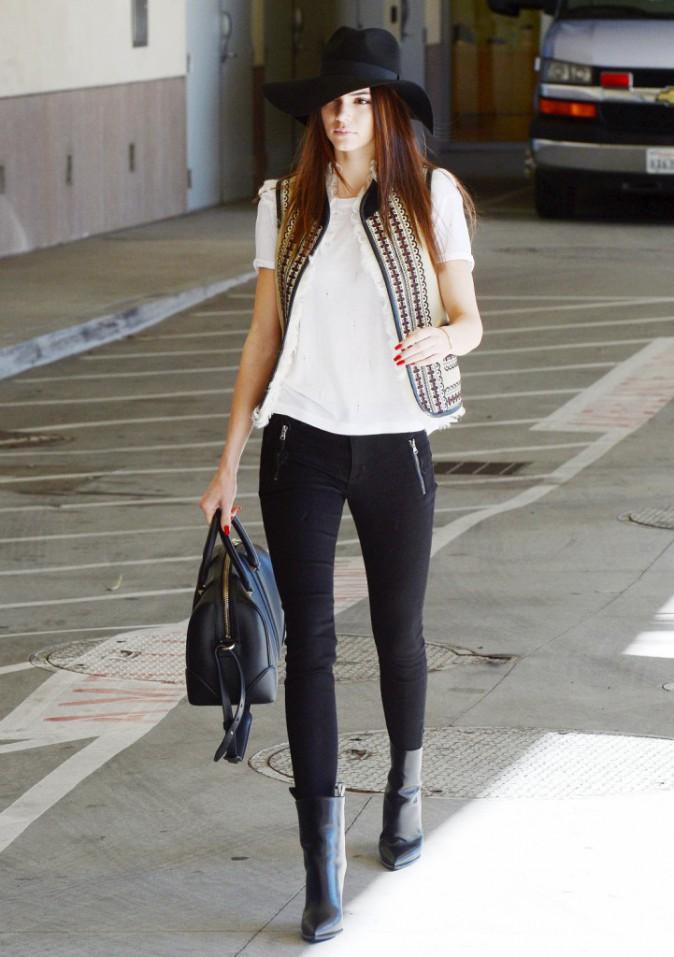 Kendall Jenner : le chapeau