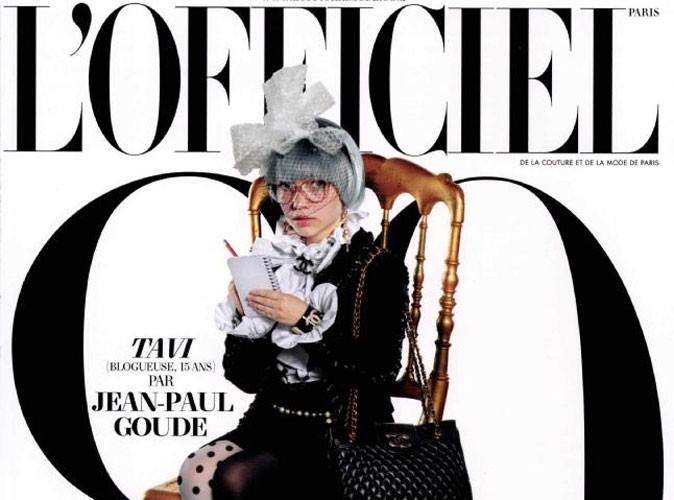 Mode : Tavi, 15 ans, est en couverture de L'Officiel, 90 ans !