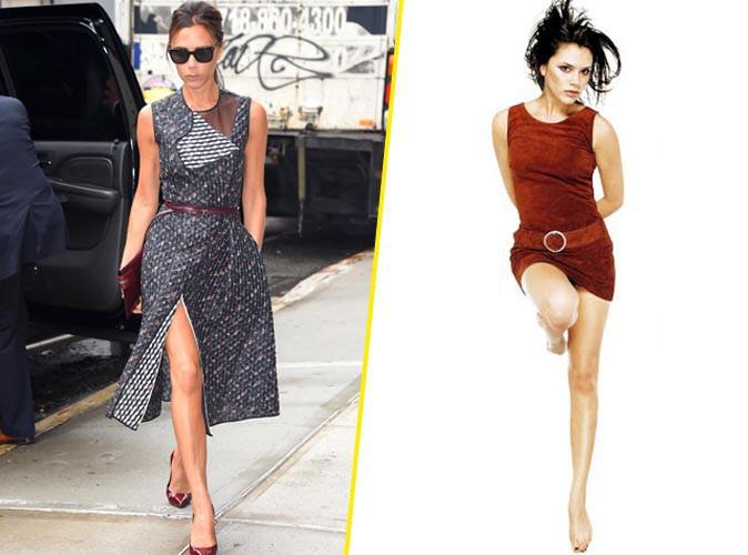 Mode : Victoria Beckham : nostalgique, elle dévoile la robe de son premier rendez-vous avec David !