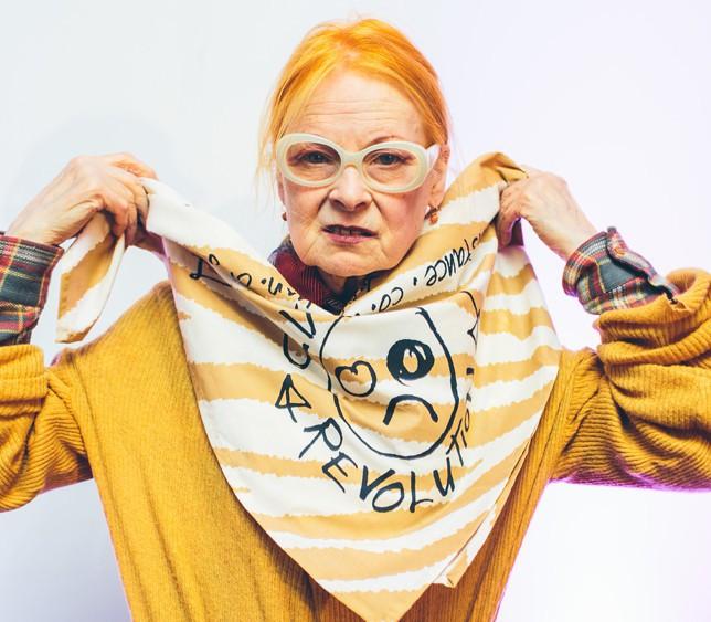 Vivienne Westwood : autobiographie et furoshiki, la vétérante de la mode fourmille de projets !