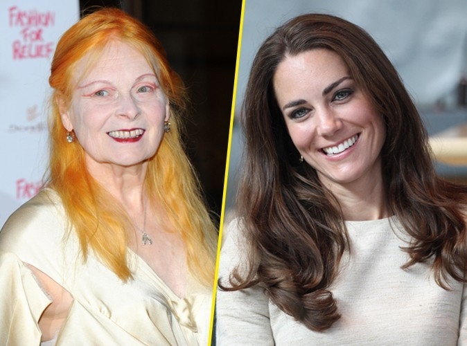 Mode : Vivienne Westwood incite Kate Middleton à recycler ses tenues !