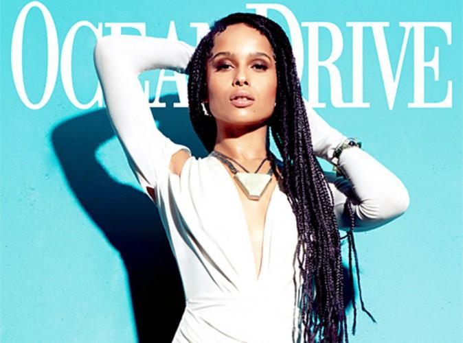 Mode : Zoe Kravitz : ethnique-chic en couverture d'Ocean Drive !