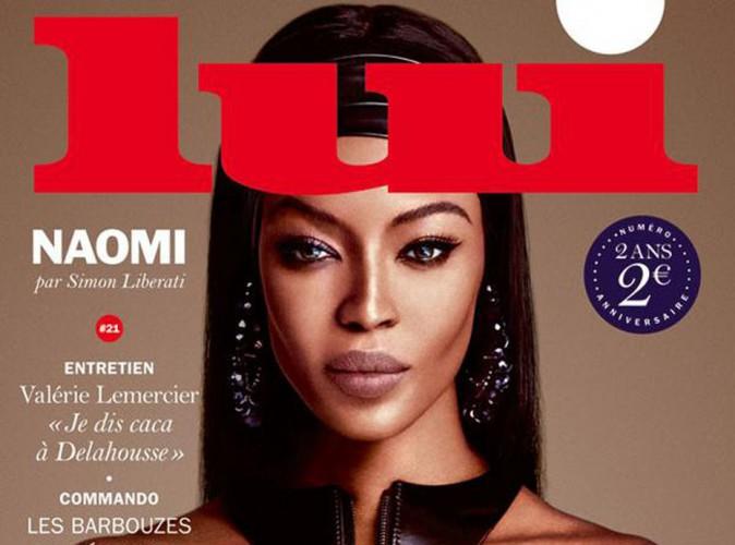 Naomi Campbell : topless et envoutante en une de Lui !