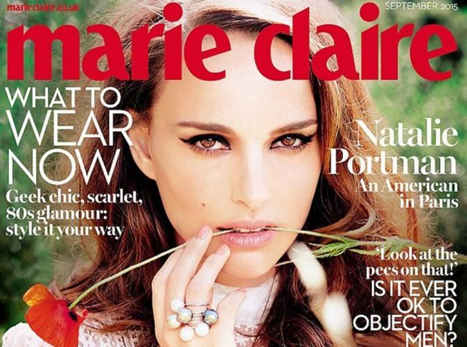 """Natalie Portman : divine, elle se confie à Marie-Claire UK : """"j'étais saoule et personne ne le savait !"""""""