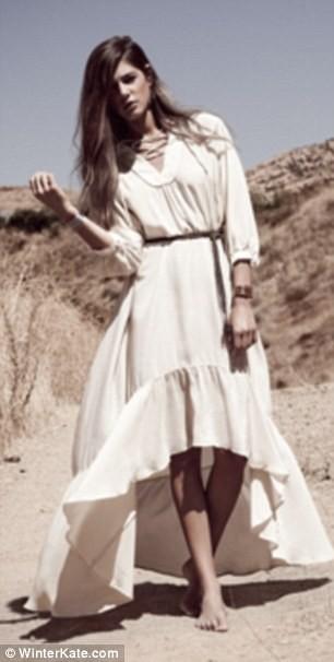 La robe de Nicole Richie, collection automne/hiver de la marque Winter Kate !