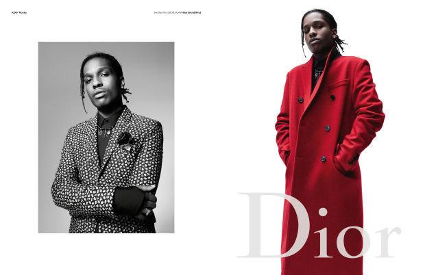 Photos : ASAP Rocky entouré de frenchies pour la nouvelle campagne Dior homme !