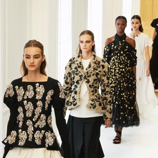 Défilé haute couture Christian Dior