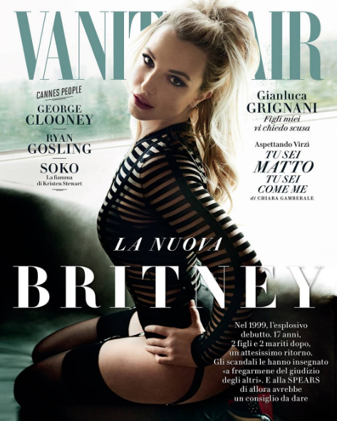 Photos : Beyoncé et Britney Spears : duel de superstars chez Vanity Fair Italy !