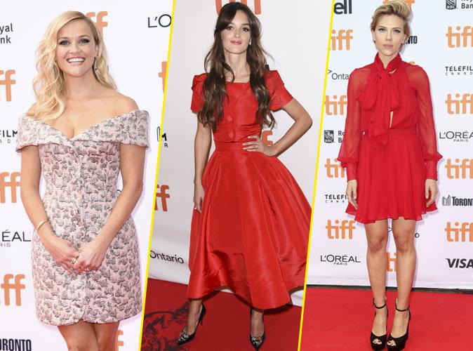 Photos : Charlotte Le Bon, Scarlett Johansson, Reese Witherspoon : tous les plus beaux looks du Festival de Toronto