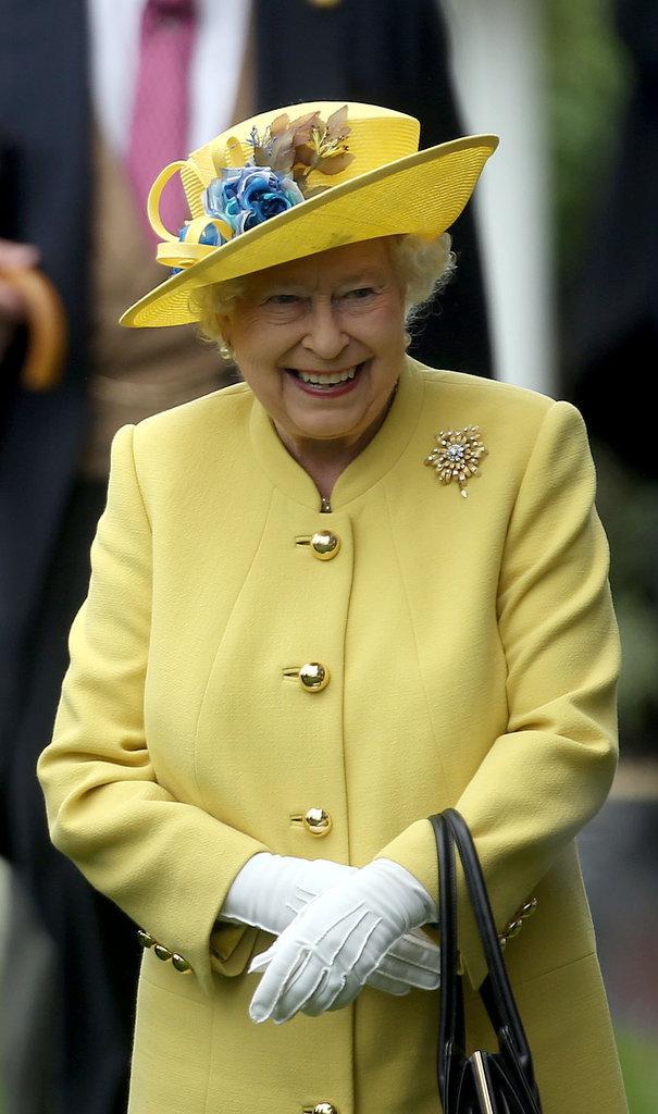 Photos : Elizabeth II : une semaine d'anniversaire en technicolor !