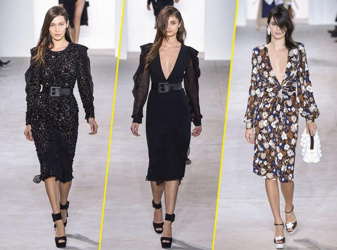 Photos : Fashion Week : Bella Hadid, Taylor Hill, Kendall Jenner : imprimés fleuries et couleurs vives pour le défilé Michael Kors