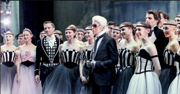 Photos : Karl Lagerfeld maestro de l'Opéra de Pars !