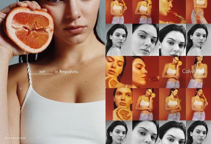 Photos : Kendall Jenner : avec Calvin Klein elle joue la provoc' !