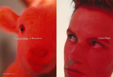 Photos : Saskia de Brauw : avec Calvin Klein on joue la provoc' !