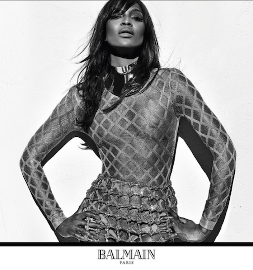 Photos : Naomi Campbell, Claudia Schiffer, Cindy Crawford : Balmain s'offre les bombes des années 90 !